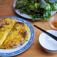 Bánh xèo (crêpes vietnamiennes)