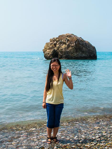 Petra tou Romiou, la pierre d'où Aphrodite est sortie de l'écume